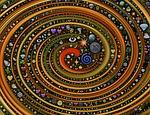 un vortex d'images cosmiques et étrange