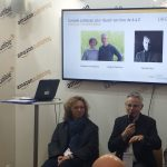 photo panel lancement amazon Livre paris