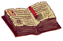 livre d'alchimie tout corné qui contient la recette pour des métadonnées magiques ;)